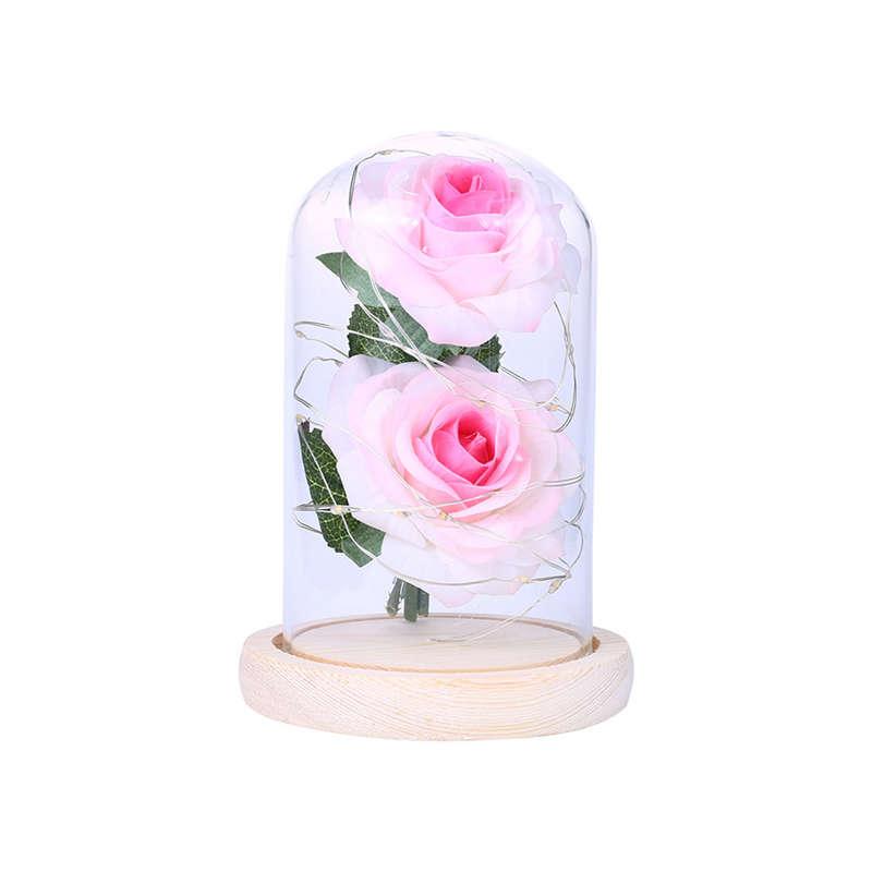 2X-Led-Rose-Battery-Powered-Flower-String-Light-Desk-Lamp-Romantic-Valentin-C4C5 thumbnail 10