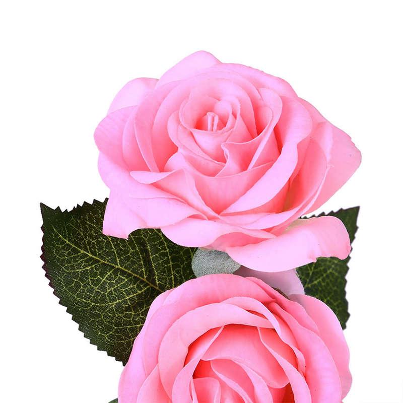 2X-Led-Rose-Battery-Powered-Flower-String-Light-Desk-Lamp-Romantic-Valentin-C4C5 thumbnail 21