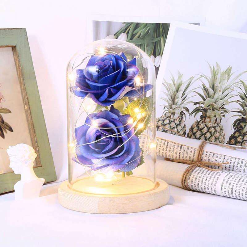 2X-Led-Rose-Battery-Powered-Flower-String-Light-Desk-Lamp-Romantic-Valentin-C4C5 thumbnail 33