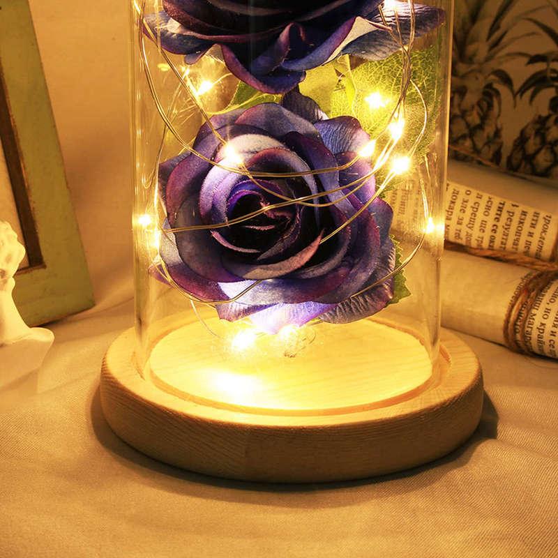 2X-Led-Rose-Battery-Powered-Flower-String-Light-Desk-Lamp-Romantic-Valentin-C4C5 thumbnail 36