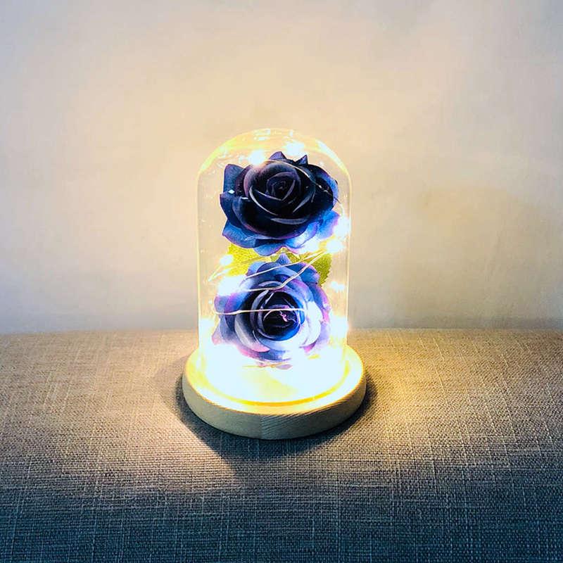 2X-Led-Rose-Battery-Powered-Flower-String-Light-Desk-Lamp-Romantic-Valentin-C4C5 thumbnail 37