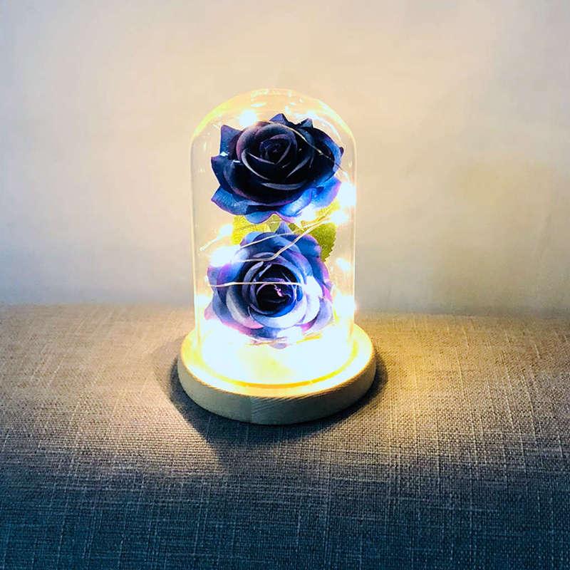 2X-Led-Rose-Battery-Powered-Flower-String-Light-Desk-Lamp-Romantic-Valentin-C4C5 thumbnail 38