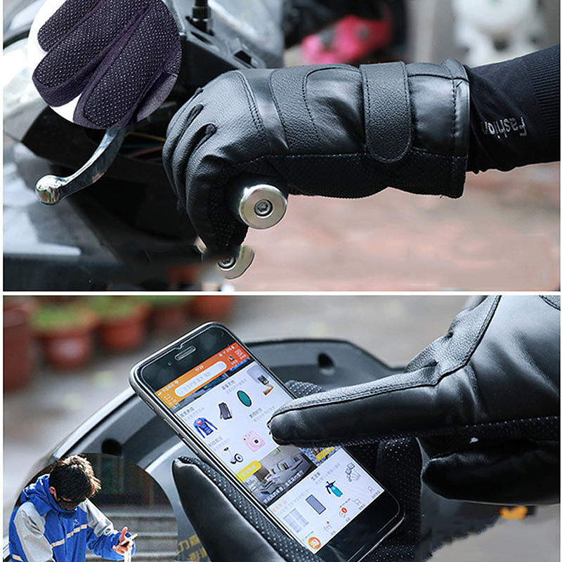 Winter-Heated-Gloves-Warmer-Electric-Thermal-Gloves-Cycling-Motorcycle-Glov-N5L4 thumbnail 10