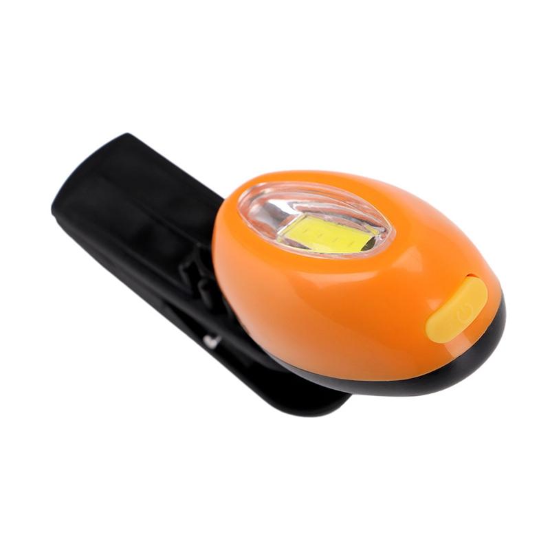 2X-Mini-Cob-Chapeau-Pince-Lumiere-Exterieure-Impermeable-Lumiere-de-Nuit-Pe-Y3D9 miniature 3
