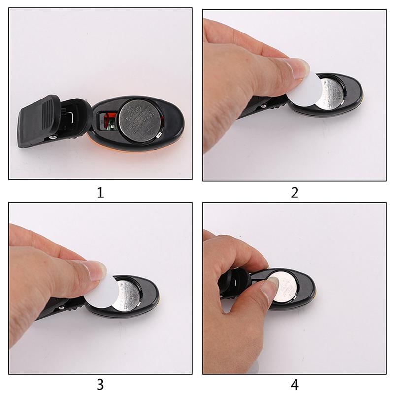 2X-Mini-Cob-Chapeau-Pince-Lumiere-Exterieure-Impermeable-Lumiere-de-Nuit-Pe-Y3D9 miniature 10