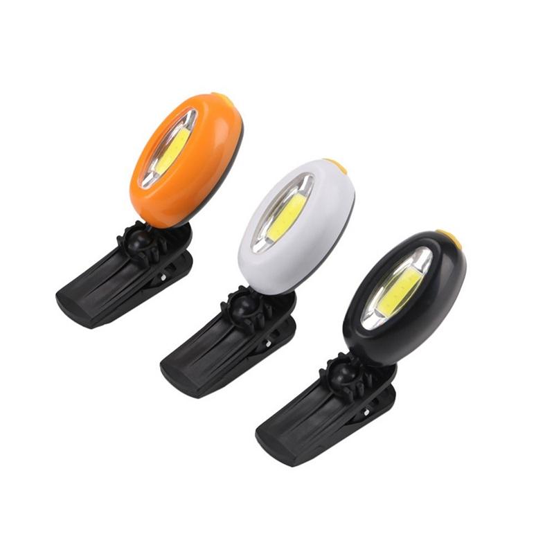 2X-Mini-Cob-Chapeau-Pince-Lumiere-Exterieure-Impermeable-Lumiere-de-Nuit-Pe-Y3D9 miniature 20