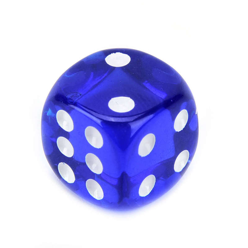 2X-100Pcs-Bag-14Mm-Colorful-Dice-Transparent-Dices-For-Game-Bar-Playing-Gam-O7V8 thumbnail 3