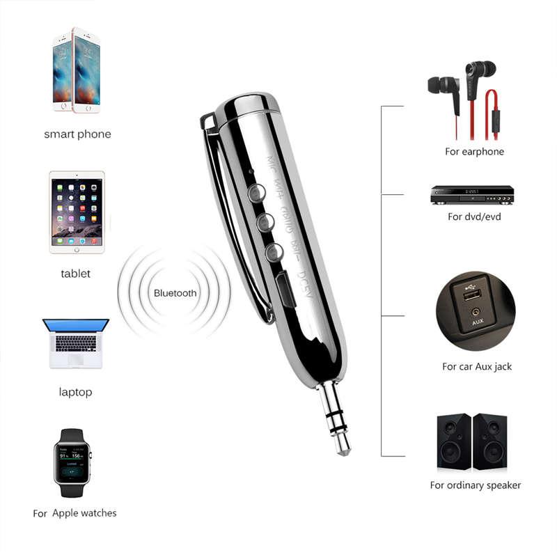 Jack-Receiver-Adapter-Double-Output-Bluetooth-Handsfree-Car-Kit-Aux-Bluetoo-Q4F1 miniatuur 12