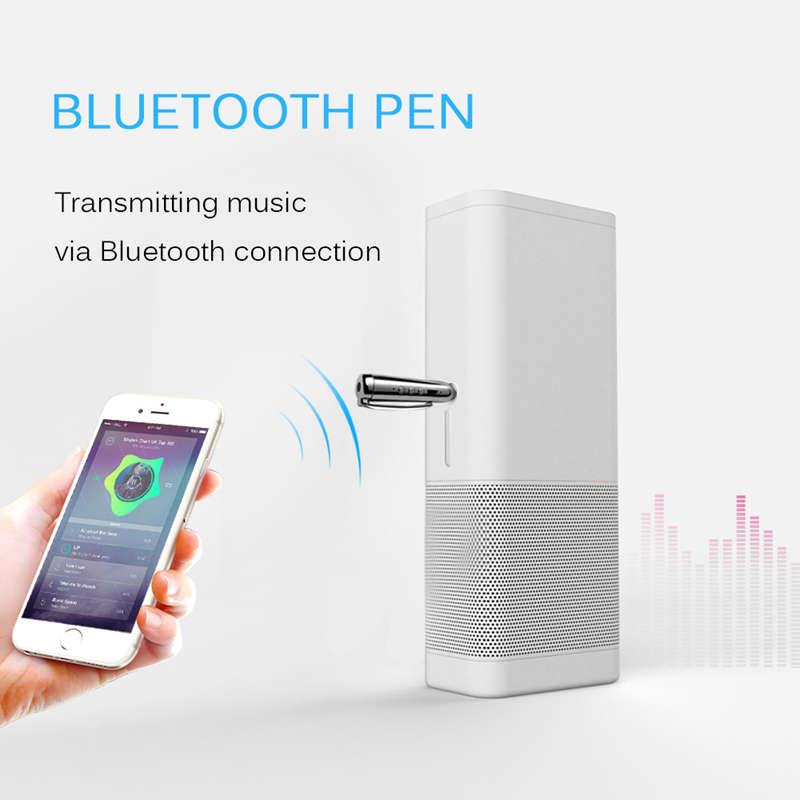 Jack-Receiver-Adapter-Double-Output-Bluetooth-Handsfree-Car-Kit-Aux-Bluetoo-Q4F1 miniatuur 15