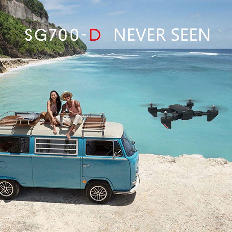 2X(SG700-D 2.4GHz 4CH 4CH 4CH Wide-Angle WiFi HD 720P Optical Flow Dual telecamera Quad E3N2 f9edf7