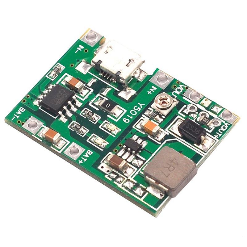 3-7V-9V-5V-2A-Adjustable-Step-Up-18650-Lithium-Battery-Charging-Discharge-I-K2I5 thumbnail 2