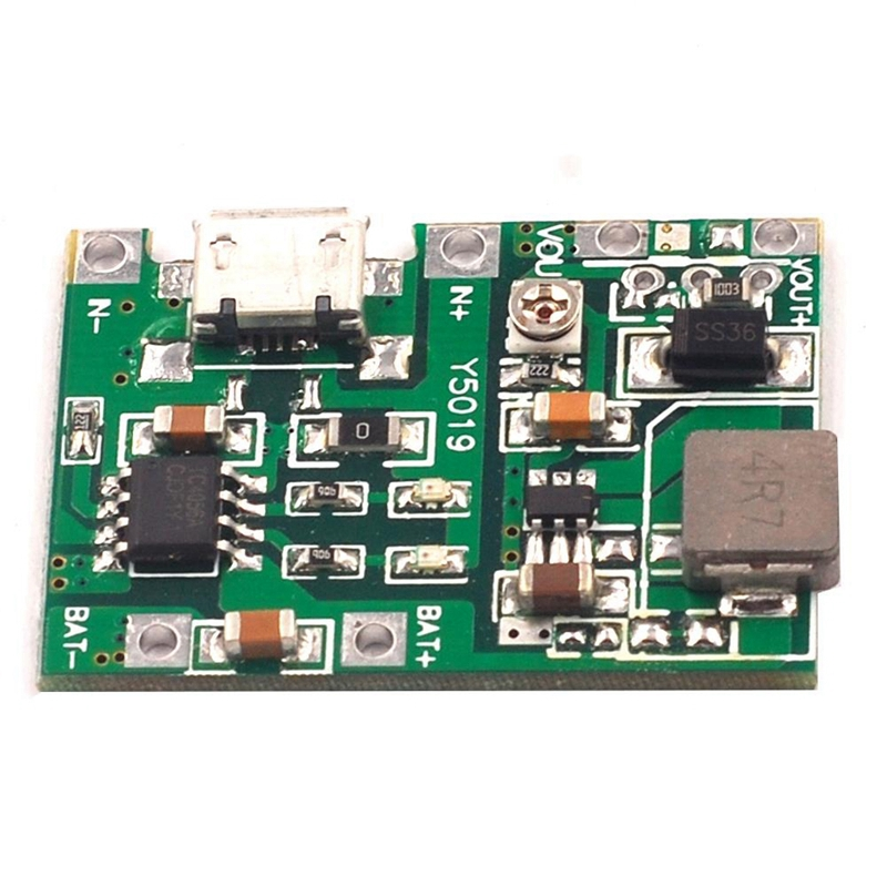 3-7V-9V-5V-2A-Adjustable-Step-Up-18650-Lithium-Battery-Charging-Discharge-I-K2I5 thumbnail 3