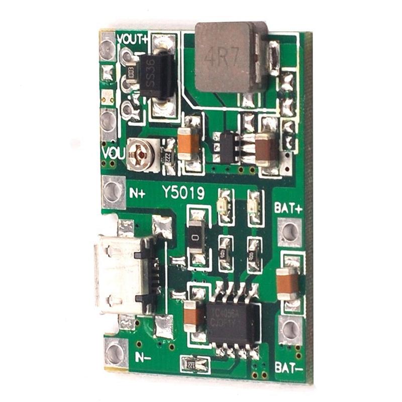 3-7V-9V-5V-2A-Adjustable-Step-Up-18650-Lithium-Battery-Charging-Discharge-I-K2I5 thumbnail 6