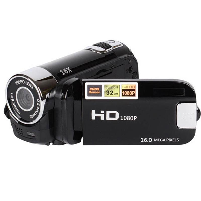 2-4-Pouces-Ecran-Tft-16X-Zoom-Numerique-Camescope-Video-Dv-Hd-1080P-Portable-2C1 miniature 4