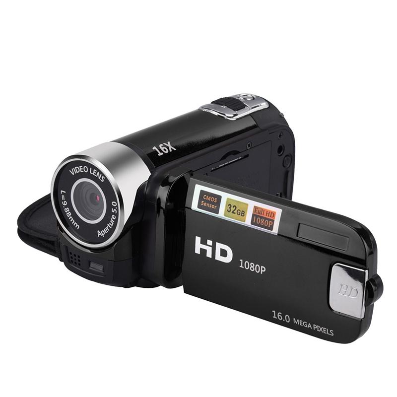 2-4-Pouces-Ecran-Tft-16X-Zoom-Numerique-Camescope-Video-Dv-Hd-1080P-Portable-2C1 miniature 5
