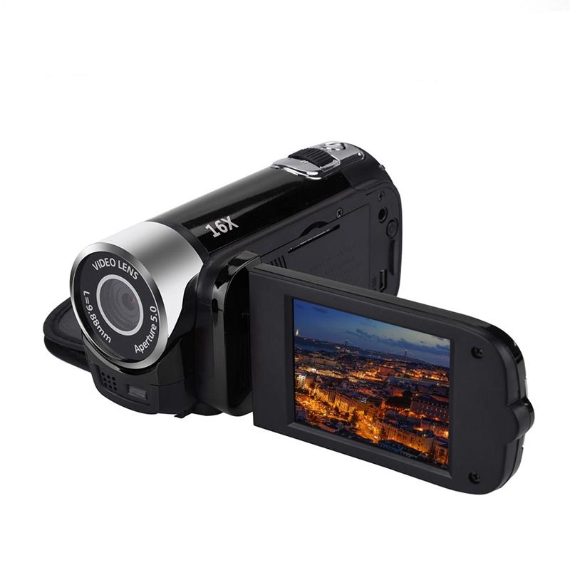 2-4-Pouces-Ecran-Tft-16X-Zoom-Numerique-Camescope-Video-Dv-Hd-1080P-Portable-2C1 miniature 6