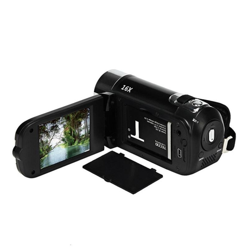 2-4-Pouces-Ecran-Tft-16X-Zoom-Numerique-Camescope-Video-Dv-Hd-1080P-Portable-2C1 miniature 9