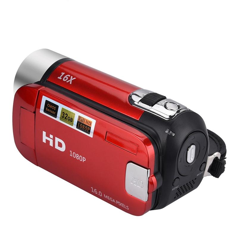 2-4-Pouces-Ecran-Tft-16X-Zoom-Numerique-Camescope-Video-Dv-Hd-1080P-Portable-2C1 miniature 12