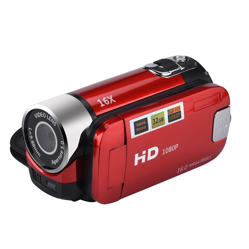 2-4-Pouces-Ecran-Tft-16X-Zoom-Numerique-Camescope-Video-Dv-Hd-1080P-Portable-2C1 miniature 17