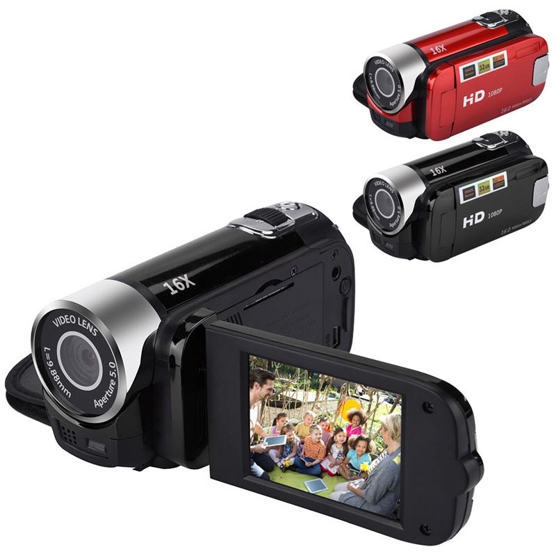 2-4-Pouces-Ecran-Tft-16X-Zoom-Numerique-Camescope-Video-Dv-Hd-1080P-Portable-2C1 miniature 18