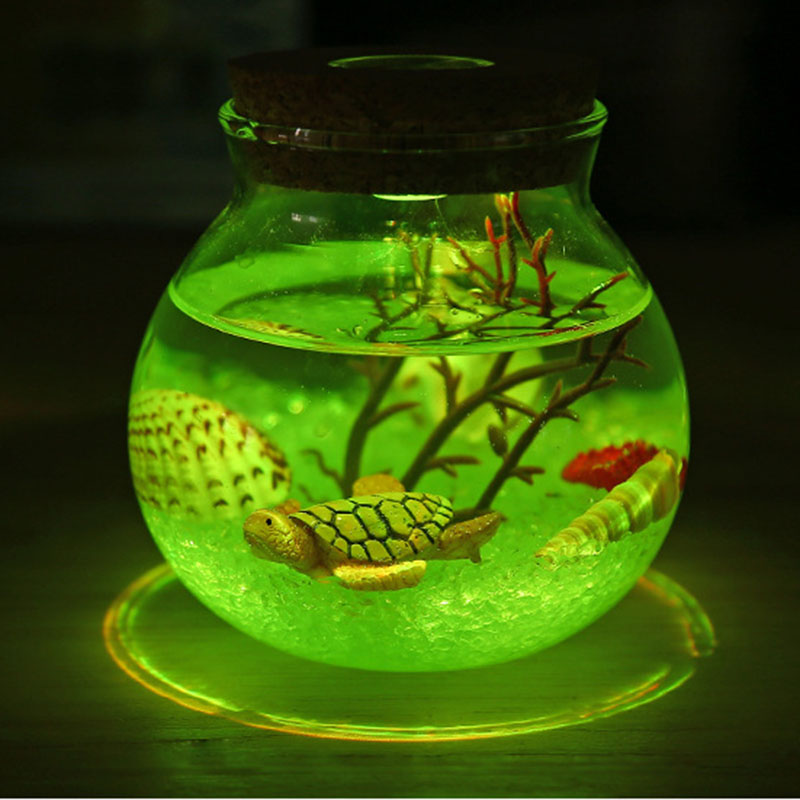 2X-Night-Light-Creative-Beautiful-Aquarium-Diy-Light-Durable-Home-Decoratio-P2D7 thumbnail 4