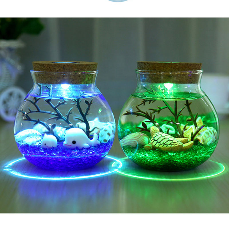 2X-Night-Light-Creative-Beautiful-Aquarium-Diy-Light-Durable-Home-Decoratio-P2D7 thumbnail 7