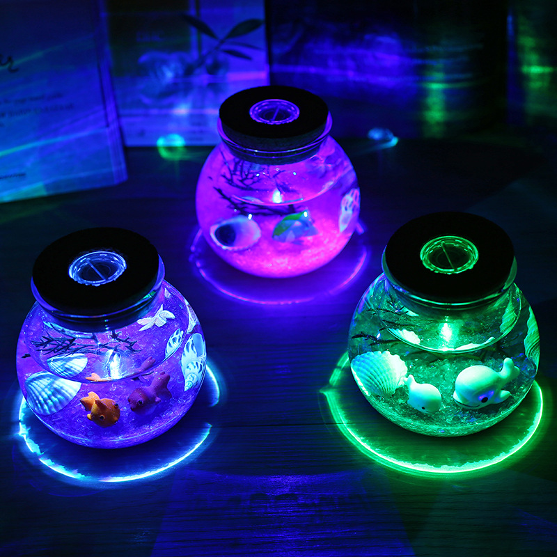 2X-Night-Light-Creative-Beautiful-Aquarium-Diy-Light-Durable-Home-Decoratio-P2D7 thumbnail 8