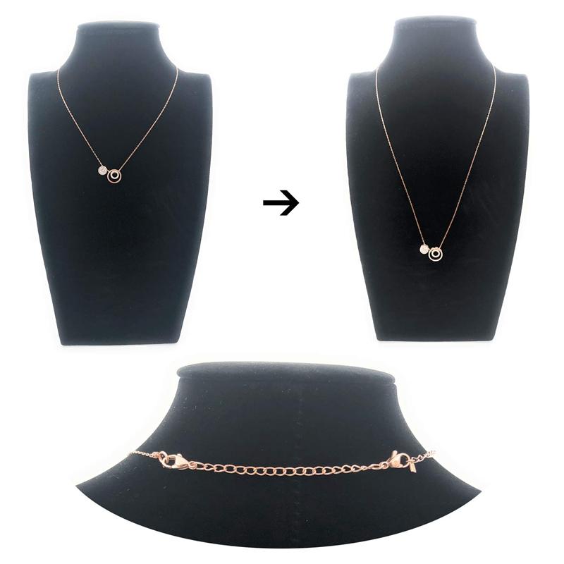 12-Pcs-Stainless-Steel-Necklace-Extender-Bracelet-Extender-Extender-Chain-S-Z9D3 thumbnail 8