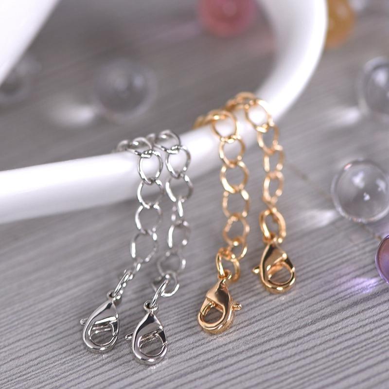 12-Pcs-Stainless-Steel-Necklace-Extender-Bracelet-Extender-Extender-Chain-S-Z9D3