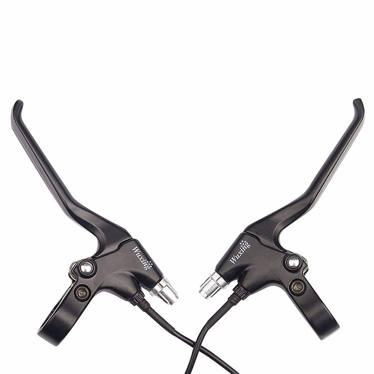 10X (Wuxing 1 par brakelever eléctrico de Aleación de Aluminio para Bicicleta Eléctrica E-K5S9