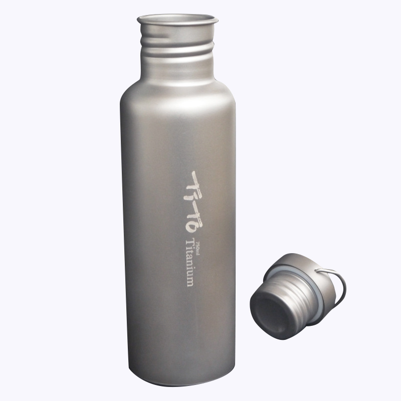 Tito Titanium Bottle Bicycle Drinkware Bottle Outdoor Camping Cycling Hikin M6A1