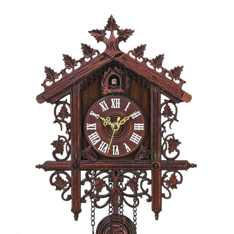 Reloj-De-Pared-De-Madera-De-Cuco-De-La-Vendimia-Que-Cuelga-El-Reloj-De-La-A-W7M1 miniatura 6