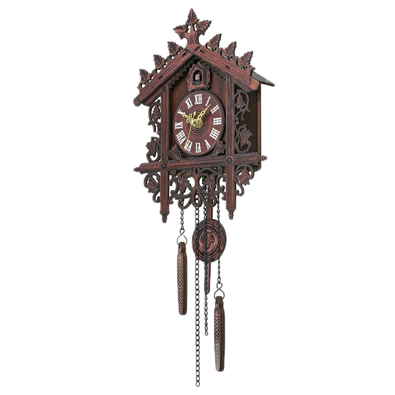 Reloj-De-Pared-De-Madera-De-Cuco-De-La-Vendimia-Que-Cuelga-El-Reloj-De-La-A-W7M1 miniatura 10