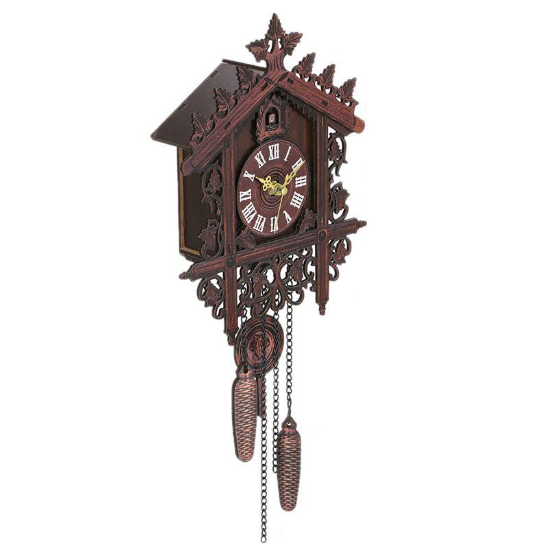 Reloj-De-Pared-De-Madera-De-Cuco-De-La-Vendimia-Que-Cuelga-El-Reloj-De-La-A-W7M1 miniatura 11