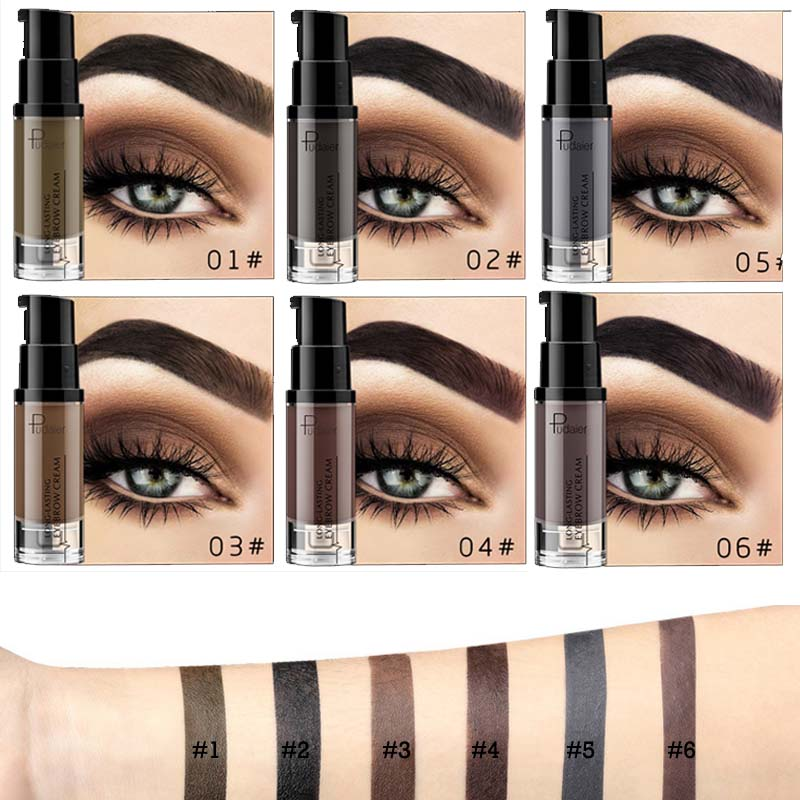 Pudaier-Henna-Eyebrow-Dye-Gel-Waterproof-Makeup-Shadow-For-Eye-Brow-Wax-Lon-K4G0 thumbnail 10