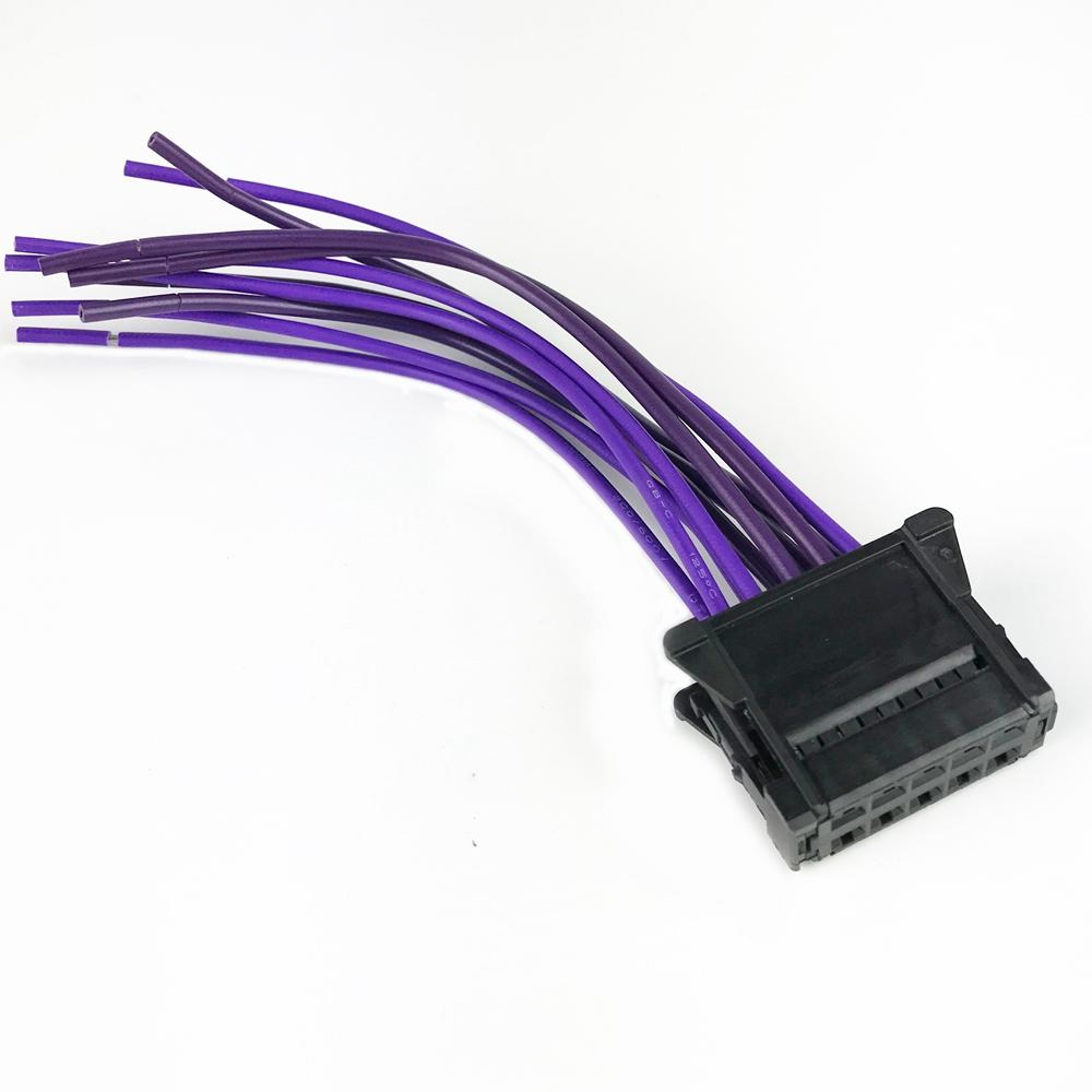 Heater Blower Resistor Wiring Loom Harness Repair Fit For