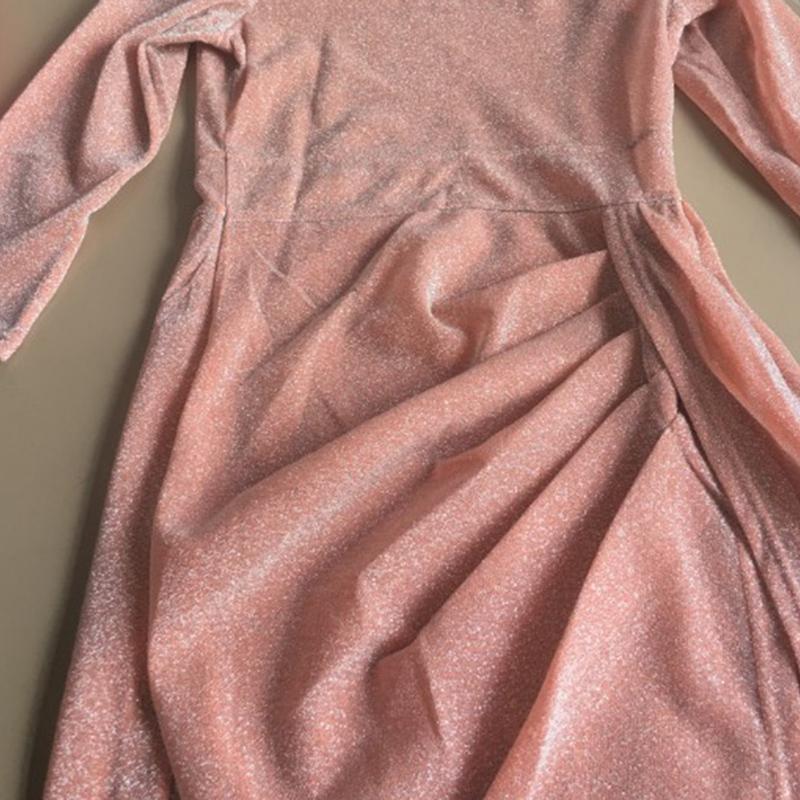 Femmes-Elegant-Epaules-denudees-Robe-De-Soiree-Irreguliere-Divise-Haute-Rob-F5M9 miniature 19