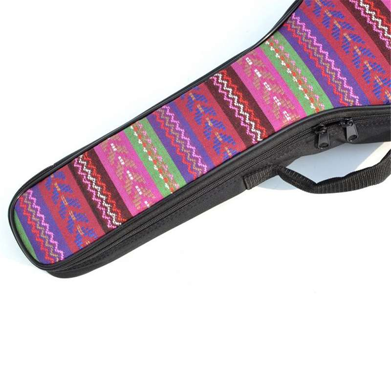 1X-Double-Strap-Hand-Folk-Canvas-Ukulele-Carry-Bag-Cotton-Padded-Case-for-U4P5 thumbnail 6