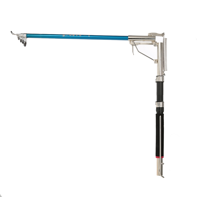 2X-1-Adjuster-Fishing-Rod-Adjustable-Telescopic-Automatic-Pole-Seashore-Riv-V6X2 thumbnail 3