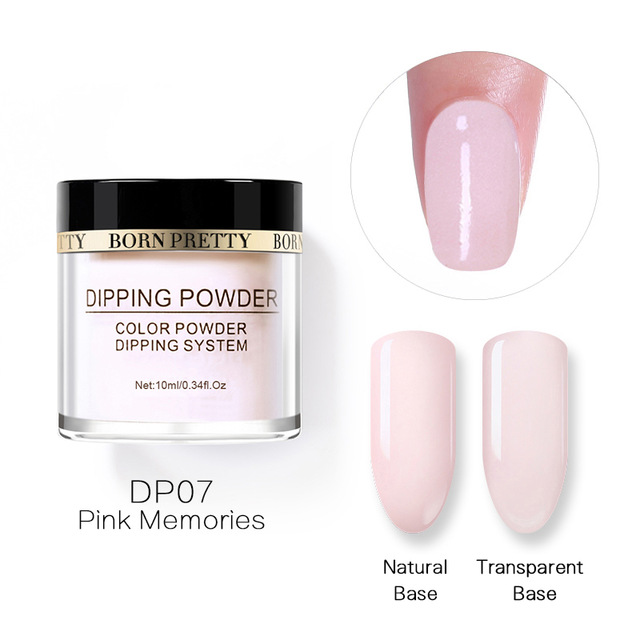 2X-BORN-PRETTY-Dipping-Powder-Gradient-French-Nail-Natural-Color-Holographi-V2D3 thumbnail 11
