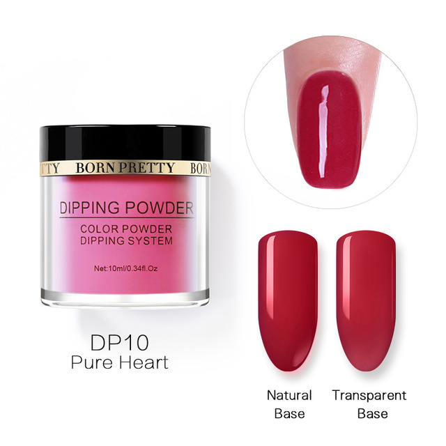 2X-BORN-PRETTY-Dipping-Powder-Gradient-French-Nail-Natural-Color-Holographi-V2D3 thumbnail 19