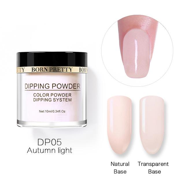 2X-BORN-PRETTY-Dipping-Powder-Gradient-French-Nail-Natural-Color-Holographi-V2D3 thumbnail 35