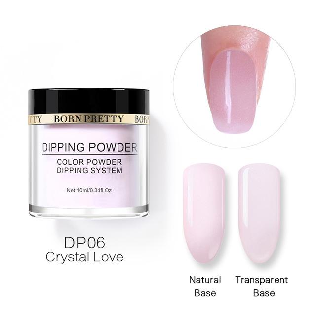 2X-BORN-PRETTY-Dipping-Powder-Gradient-French-Nail-Natural-Color-Holographi-V2D3 thumbnail 43