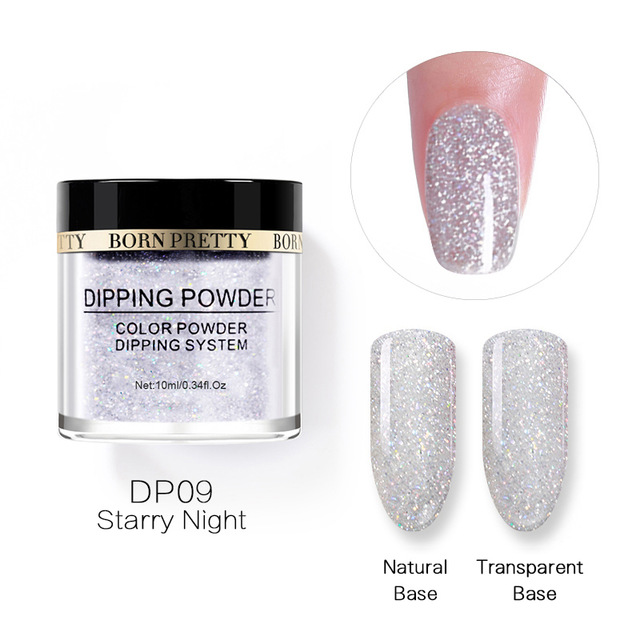 2X-BORN-PRETTY-Dipping-Powder-Gradient-French-Nail-Natural-Color-Holographi-V2D3 thumbnail 59