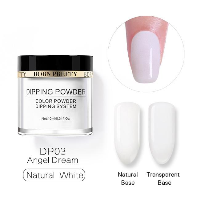 2X-BORN-PRETTY-Dipping-Powder-Gradient-French-Nail-Natural-Color-Holographi-V2D3 thumbnail 67