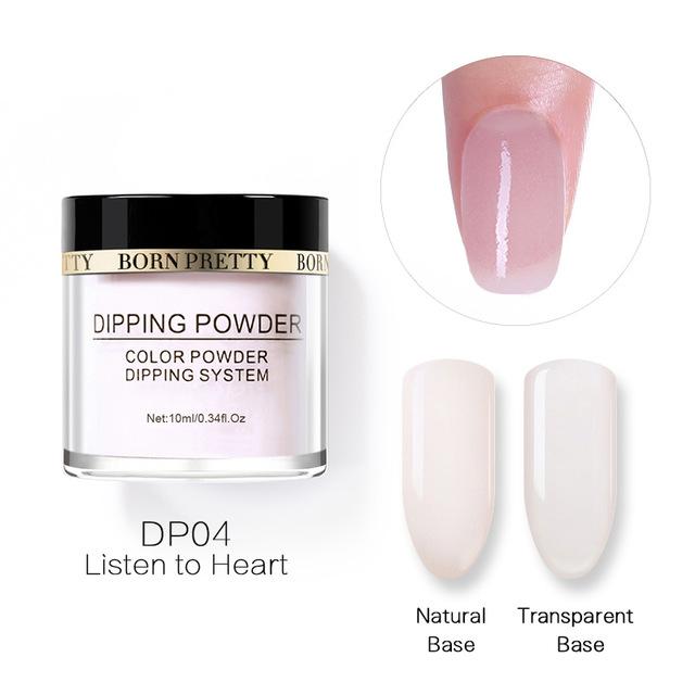2X-BORN-PRETTY-Dipping-Powder-Gradient-French-Nail-Natural-Color-Holographi-V2D3 thumbnail 75