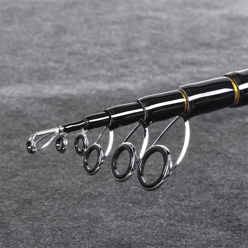 2X-LEO-Travel-Telescopic-Fishing-Rod-Superhard-Carbon-Fiber-Sea-Fishing-Rod-I1E8 thumbnail 8