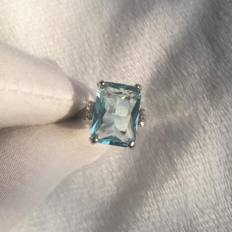 5X-Cristal-Azul-Claro-Anillos-Cercanos-Para-Mujeres-Joyas-De-Zafiro-PiedrasU8B3 miniatura 8