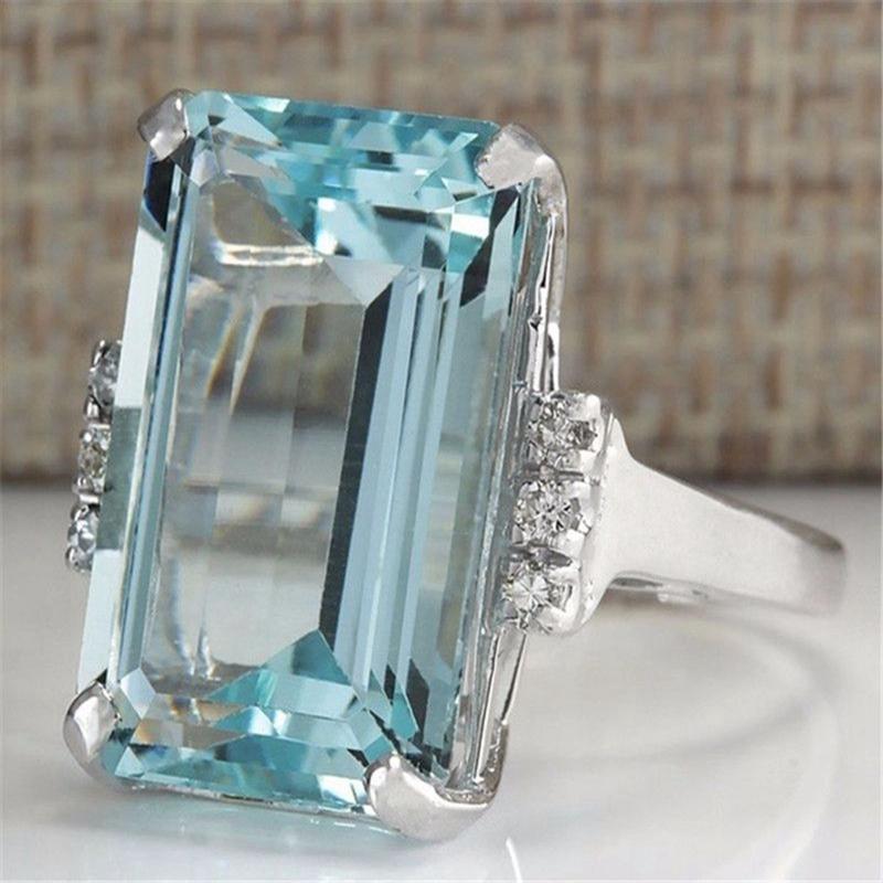 5X-Cristal-Azul-Claro-Anillos-Cercanos-Para-Mujeres-Joyas-De-Zafiro-PiedrasU8B3 miniatura 11