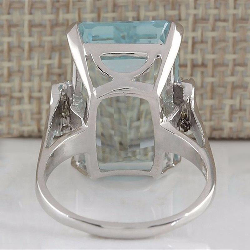 5X-Cristal-Azul-Claro-Anillos-Cercanos-Para-Mujeres-Joyas-De-Zafiro-PiedrasU8B3 miniatura 13